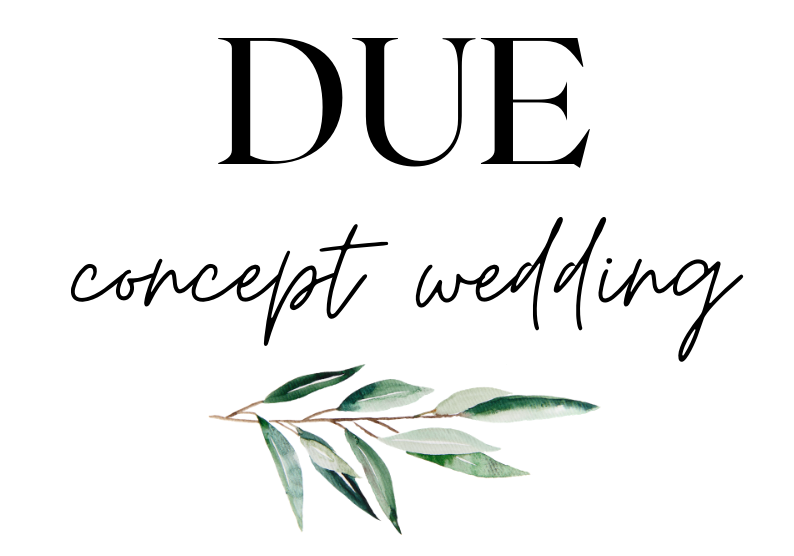 DUE concept wedding